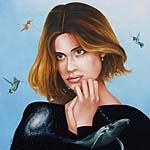 atheist madonna portrait