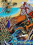 estuary landscape painting