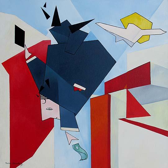 cubist modern art