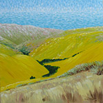 Impressionist New Zealand landscape painting
