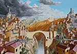fantasy landscape artwork