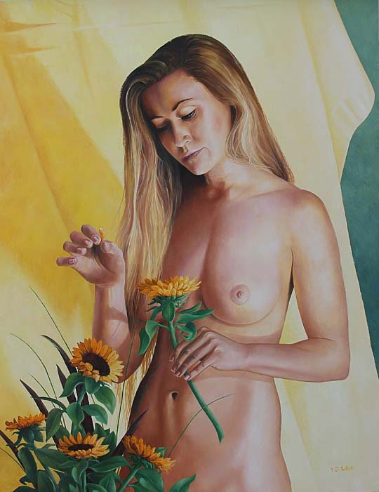 nude painting artwork
