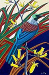 tui bird artwork
