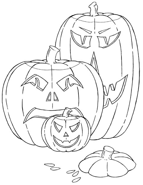 halloween pumpkins horror movie monsters